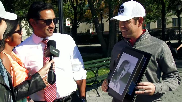 Louis Oosthuizen asks New Yorkers to identify famous golfers, who are unable to identify famous golfer Louis Oosthuizen