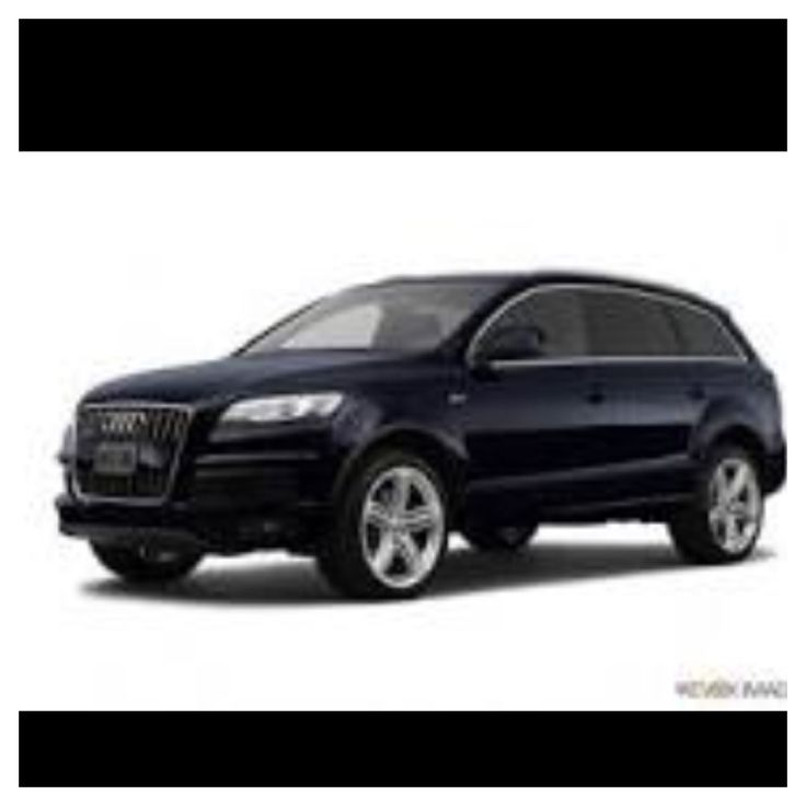My next car will definitely be an Audi and black 7 seater for my fam bam :) LOVE this one
