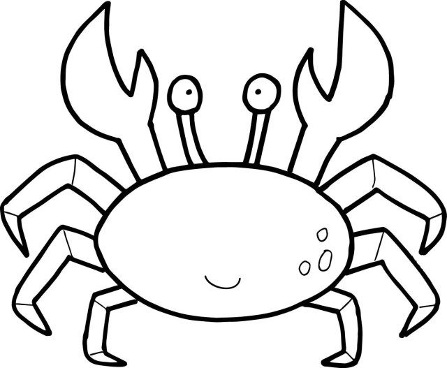 25 Exclusive Image Of Crab Coloring Pages Free Coloring Pages