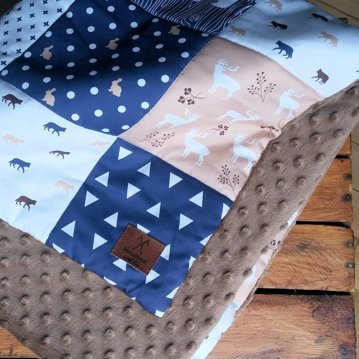 quilt with Bear 🐻 and Wolf 🐺