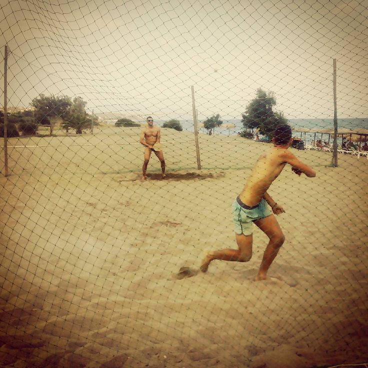beach racket #koronamou #KoronamouRoadTrip #mauvrovouni_beach #greece #mani