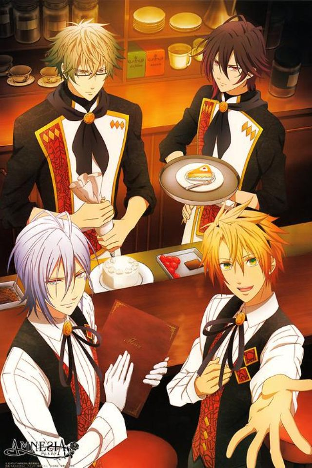 Not many people have seen Amnesia..but I thought it was a lovely anime; I recommend it(: {anime manga amnesia otaku kawaii}