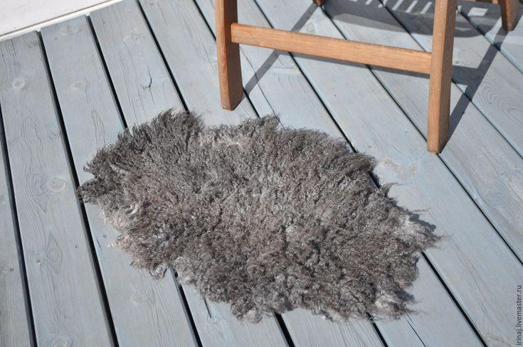 Купить Валяный коврик - серый, ковер, коврик, коврик валяный, коврик для ванной…
