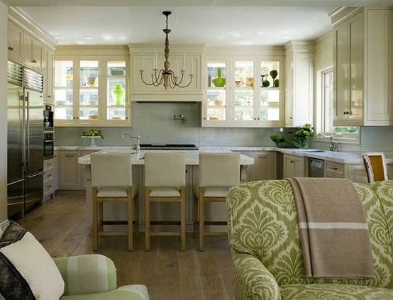 Die Offene Kuche Im Wohnzimmer Fur Eine Geraumige Raumgestaltung Wohnzimmer Mit Offener Kuche Offene Kuche Wohnzimmer Kuche Und Wohnzimmer