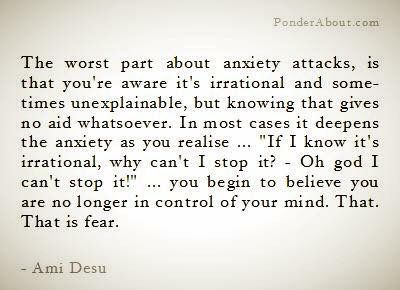 Image result for quote about anxiety