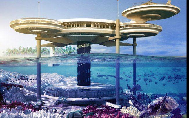 Dubai ganha hotel subaquático e resort com praia privativa