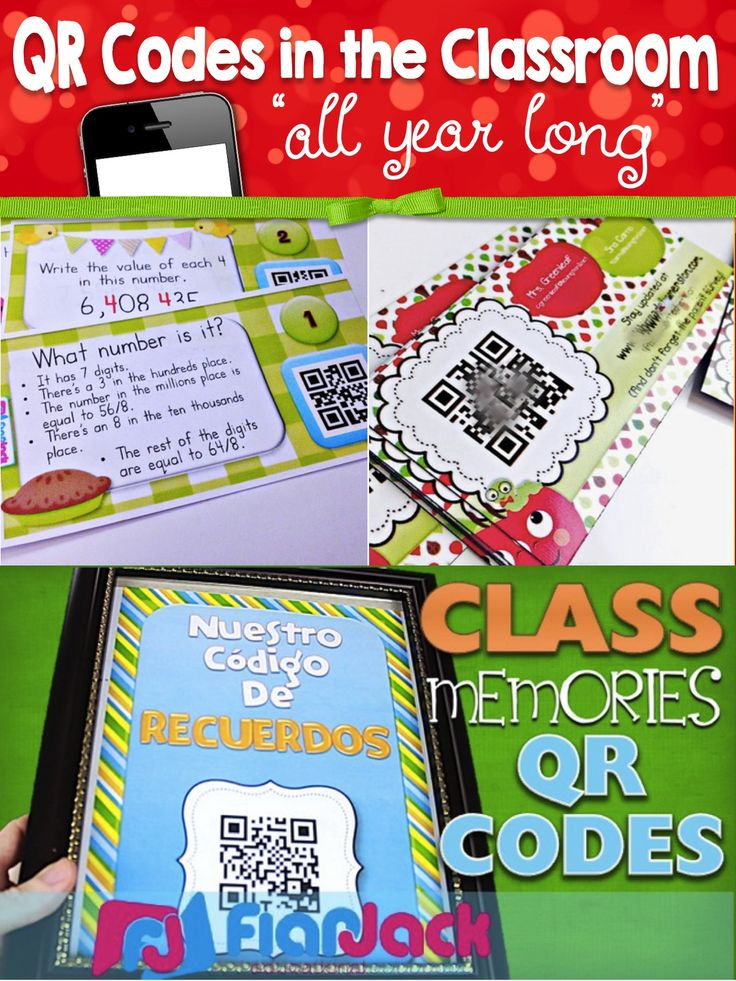 Have you tried using QR codes in your classroom? Here's a summary post of some of the fun ways you can use QR codes in your classroom all throughout the school year.