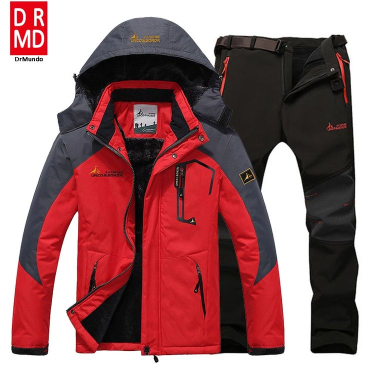 100.17$  Buy here - http://aliqmg.shopchina.info/go.php?t=32781983076 - Ski Jacket suits Men Waterproof  Fleece Snow Jacket Thermal Coat Outdoor Mountain Skiing Snowboard Jacket suits Plus Size Brand 100.17$ #aliexpress