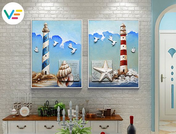 Acrylic Canvas Painting Wall Art Sculptures Relief
