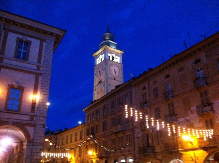 Torre Municipio. Via Roma Cuneo
