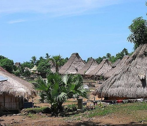 Pemo and Woloara Traditional Villages and Ikat Handwoven in Ende Flores Island - East Nusa Tenggara - Indonesia