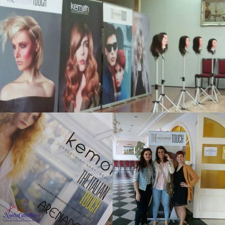 Hoy toca curso!! #noeliacastellanos #belleza #estetica #tratamientos #peluqueria #laspedroñeras #hair #hairstyle #fashion #instafashion #straighthair #longhair #style #Kemon #Albacete