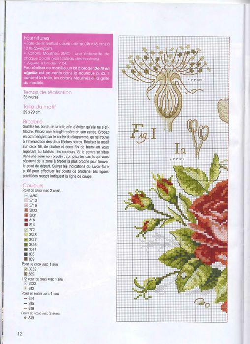 """DFEA HS 28 Etudes de Botanique - Veronique Enginger  """"La Rose"""""""