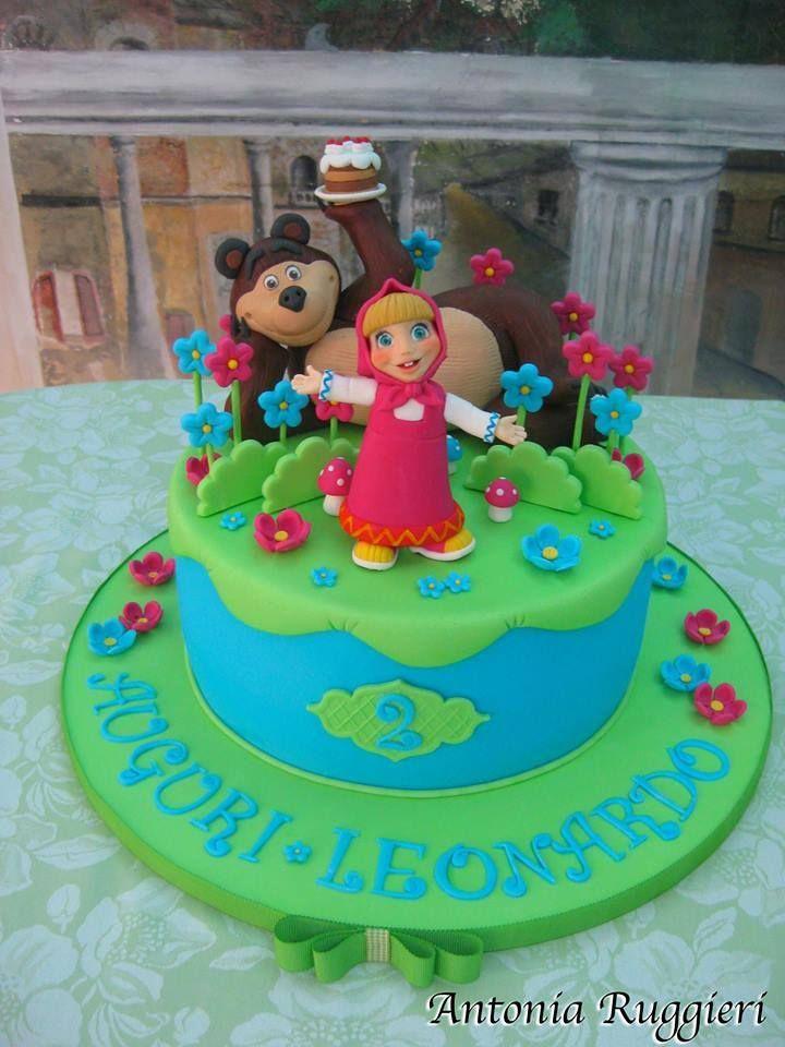 Torta masha e orso Cake masha and the bear