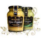 Frango assado ao molho de mel e mostarda Maille