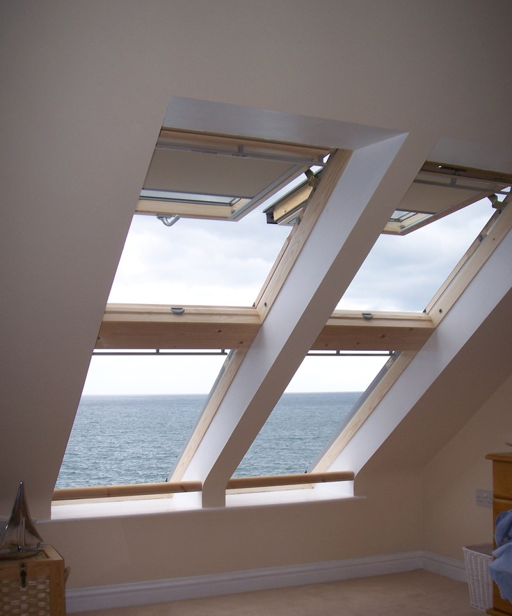 17 best roof windows velux fakro images on pinterest for Window roof design