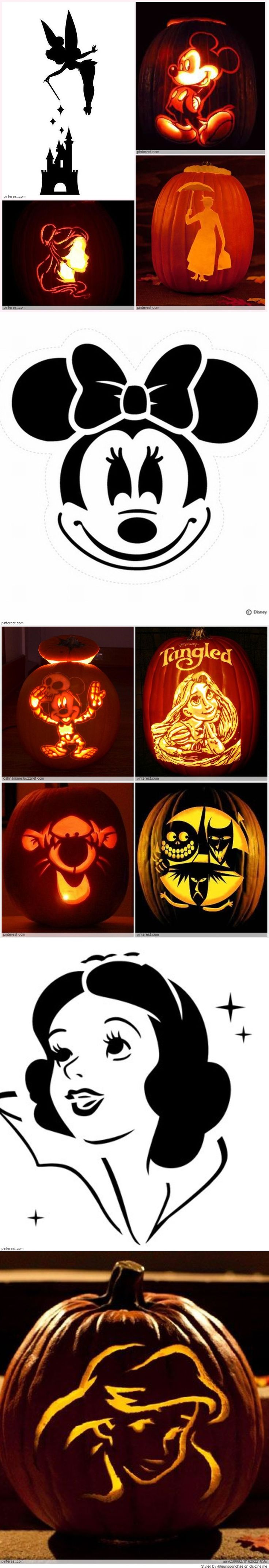 Disney Pumpkin Carving Ideas MARY POPPINS ☂