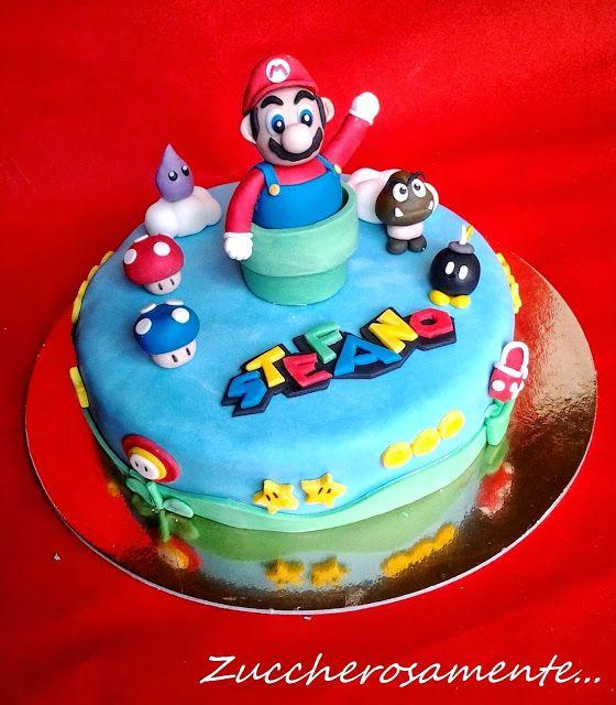 Zuccherosamente...: Torta Mario Bros