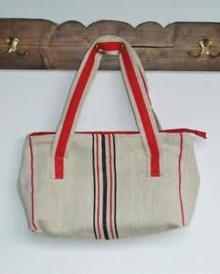 good idea - recycled grain sack bag