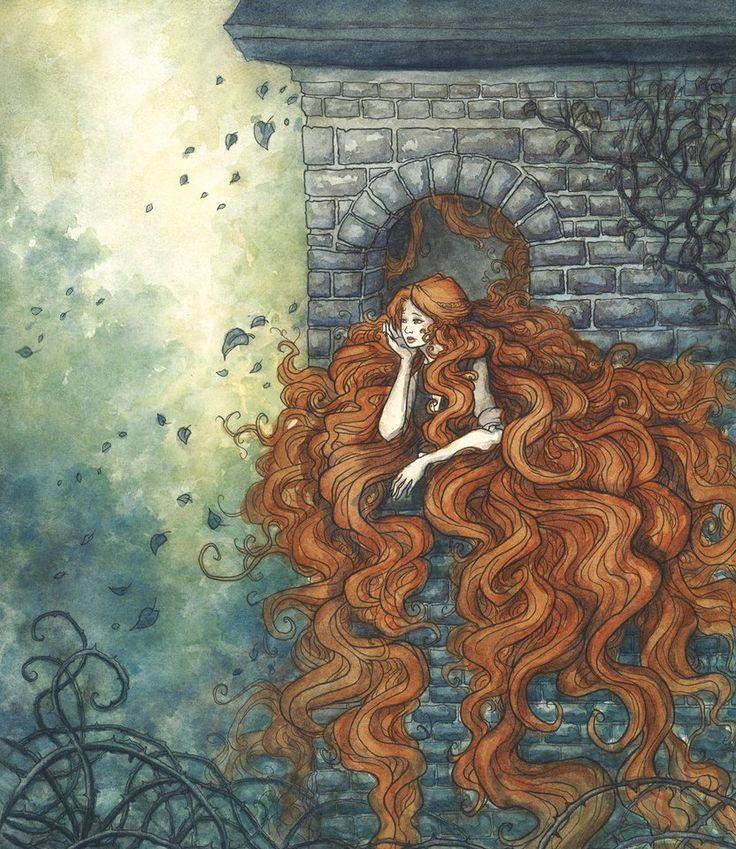 Rapunzel by Evanira