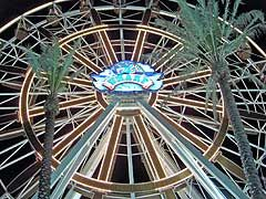 The Wharf in Orange Beach has installed the largest Ferris Wheel in the Southeast.