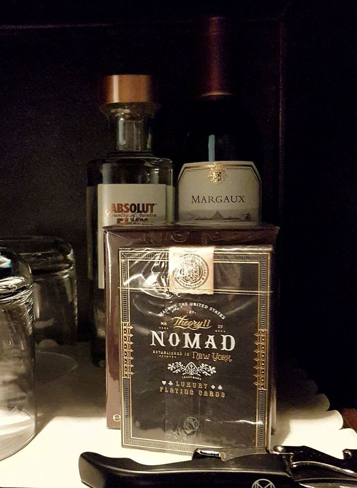 The NoMad playing cards