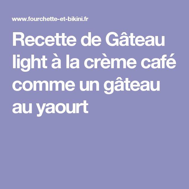 Gateau yaourt light micro onde