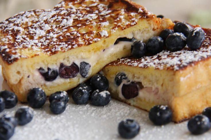 Holy Cow this is good.  My family loved it.  I used Strawberries instead.  A Bountiful Kitchen: Blueberry Cream Cheese Stuffed French Toast
