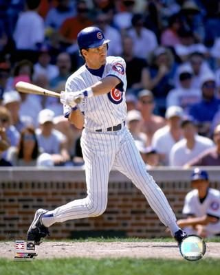 Ryne Sandberg...I still have this baseball card in the basement...he made me swoon