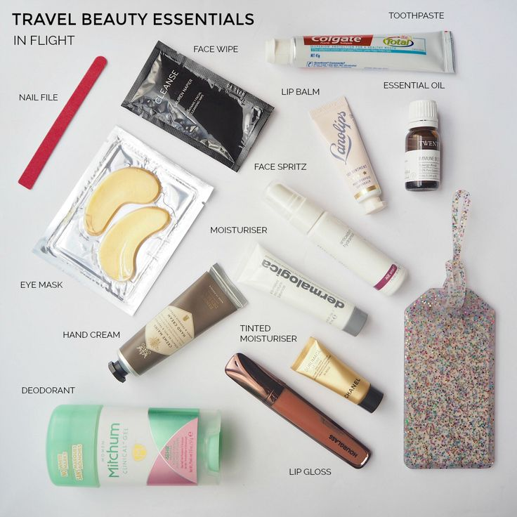 Travel beauty essentials - in flight   Styling You
