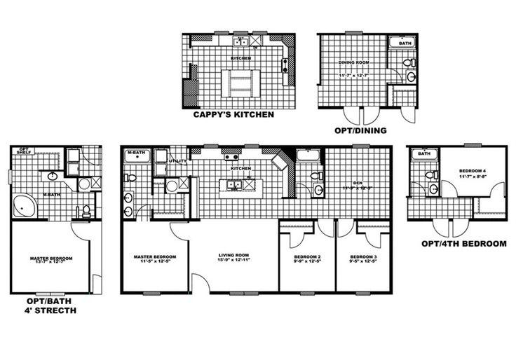 Floorplan navigator 46gir28483dh oakwood homes of for Oakwood homes floor plans
