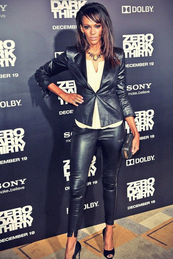 Judi Shekoni Los Angeles premiere of Zero Dark Thirty