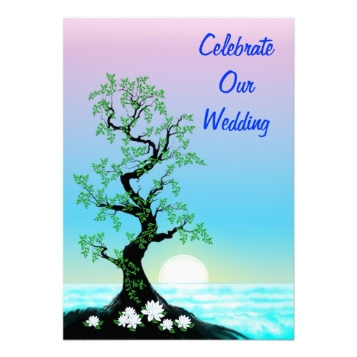 Tree Of Life Invitation Rsvp Celtic Life By: 23 Best Images About Wedding Invitations On Pinterest