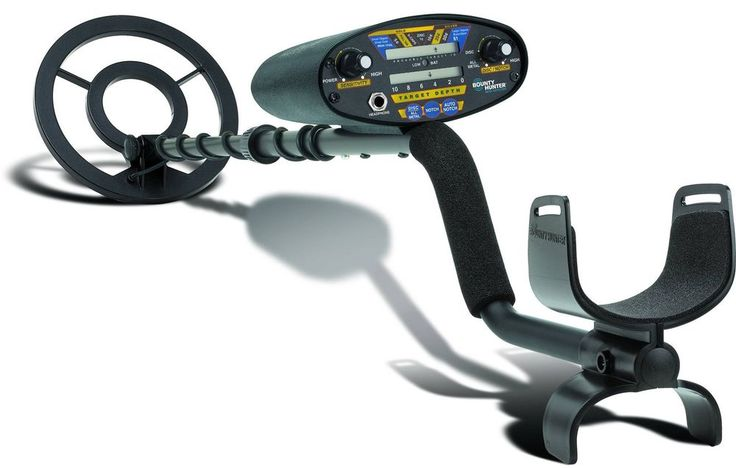 Bounty Hunter Pioneer 202 Metal Detector Ground Treasure Touch Coil Detector New #BountyHunter