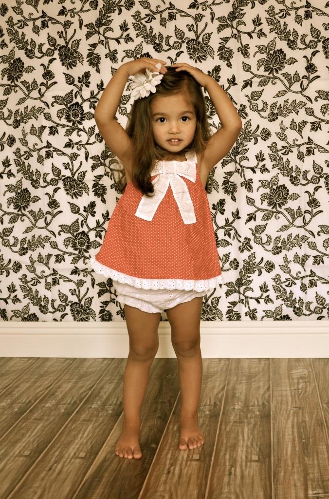Toddler Portrait - Vintage Effects - Children's Photography - Studio Portrait