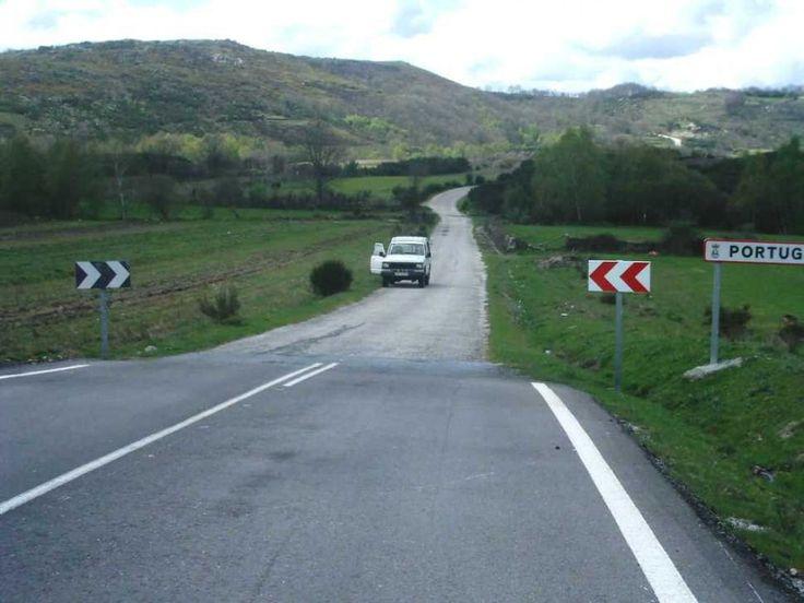 Confine tra Spagna e Portogallo - #BORDERLINES