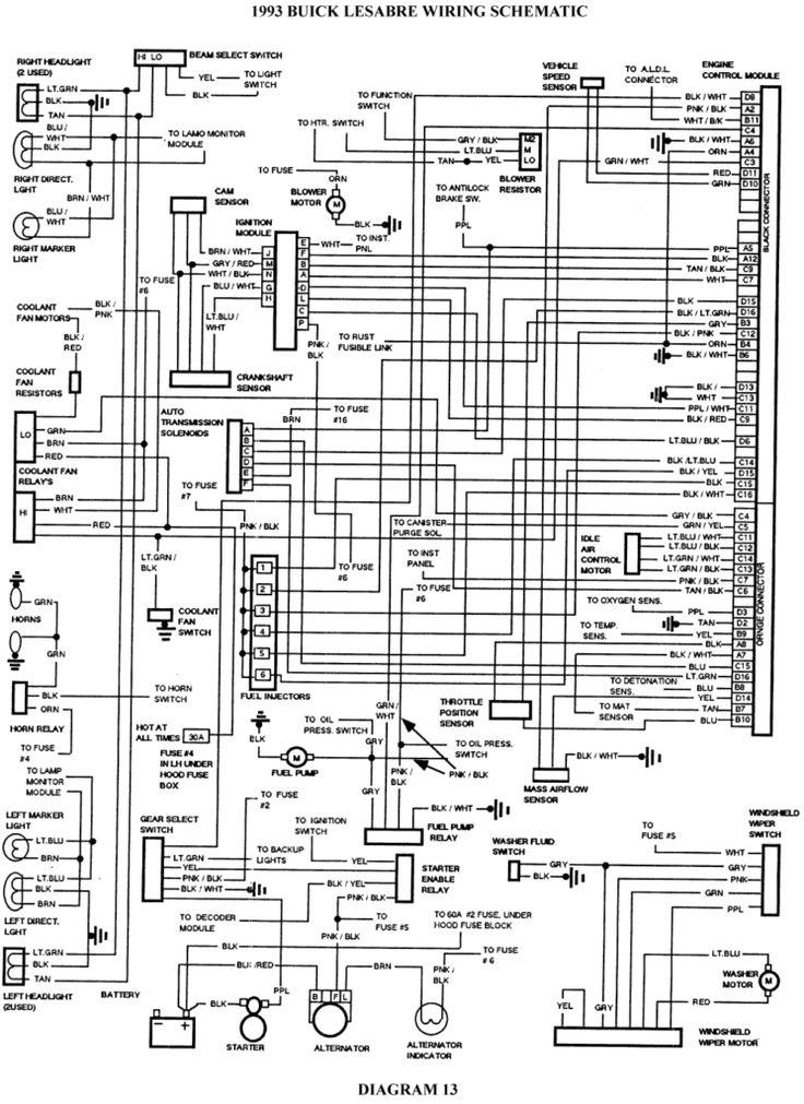 2001 Buick Century Wiring Diagram In 2020