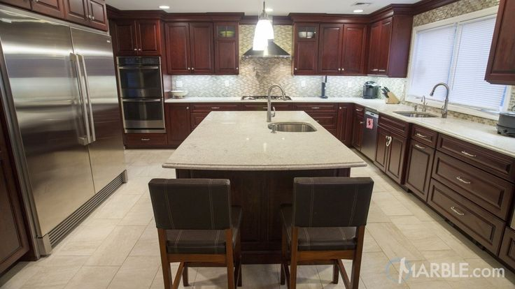 Itaunas White Granite Kitchen Countertop