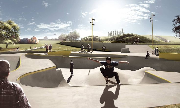 The new skate city: how skateboarders are joining the urban mainstream