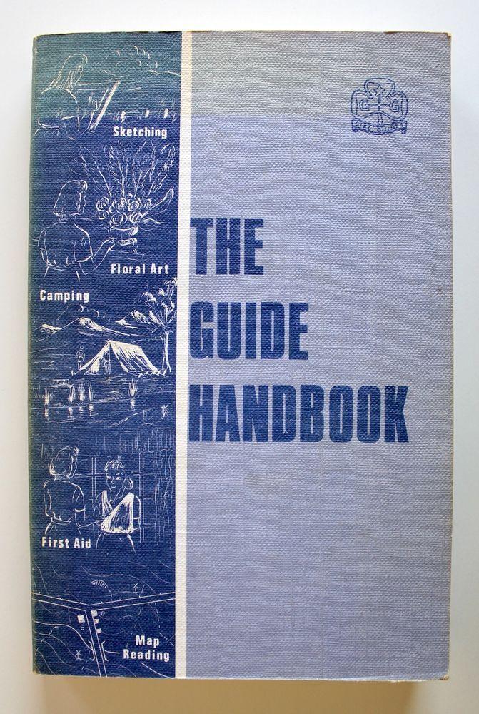 The Guide Handbook 1969 M Elizabeth Brimelow Girl Guides Association