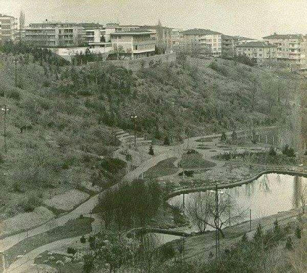 Botanik bahçesi 1970 ler