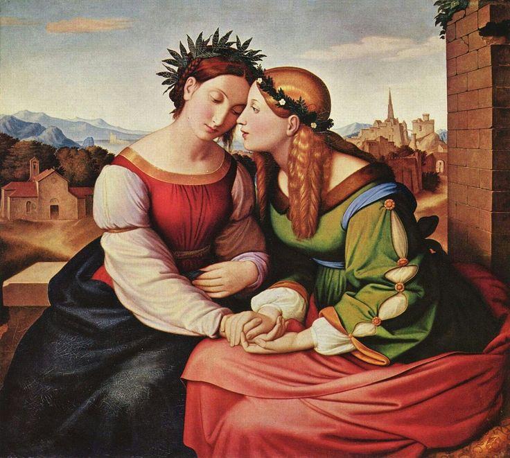 Friedrich Overbeck - Italia e Germania, 1828
