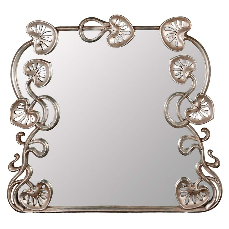 Mirror Forest Symphony Floral Charm And Natural Beauty In Your Living Room Is An Ideal Overmantle Dimensions Cm 130 X 120