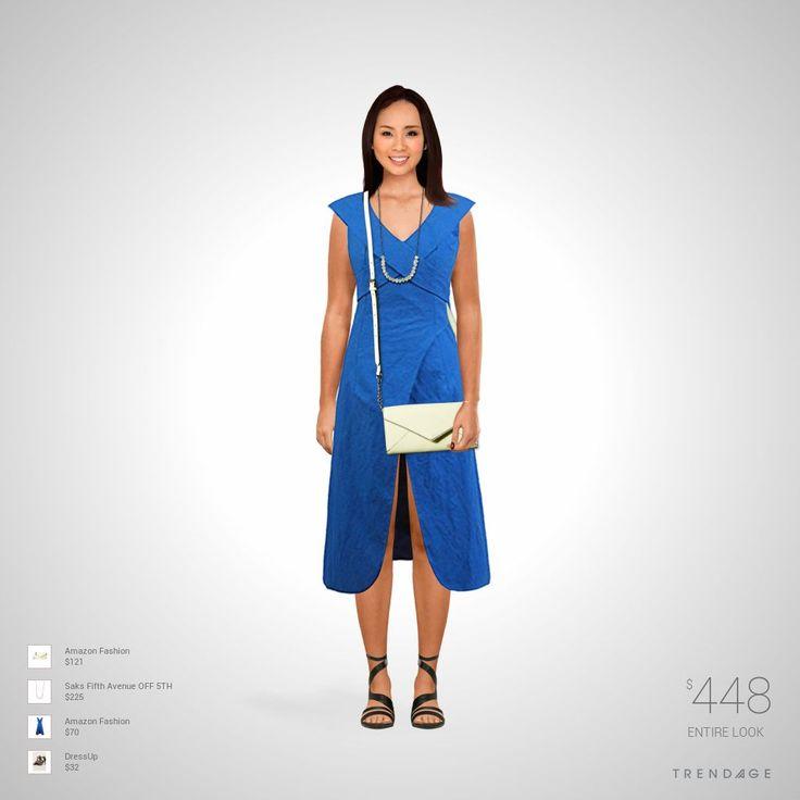 Tenue créée par Laure en utilisant les vêtements de Saks Fifth Avenue OFF 5TH, Amazon Fashion, DressUp. Look fait sur Trendage.