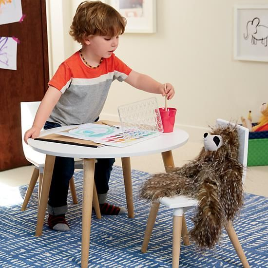 Toddler Play Table And Play Chair Set , $199, The Land of Nod