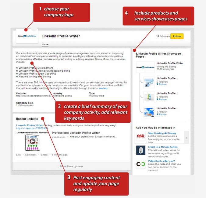 7 best LiProfile Writer images on Pinterest - company profile sample