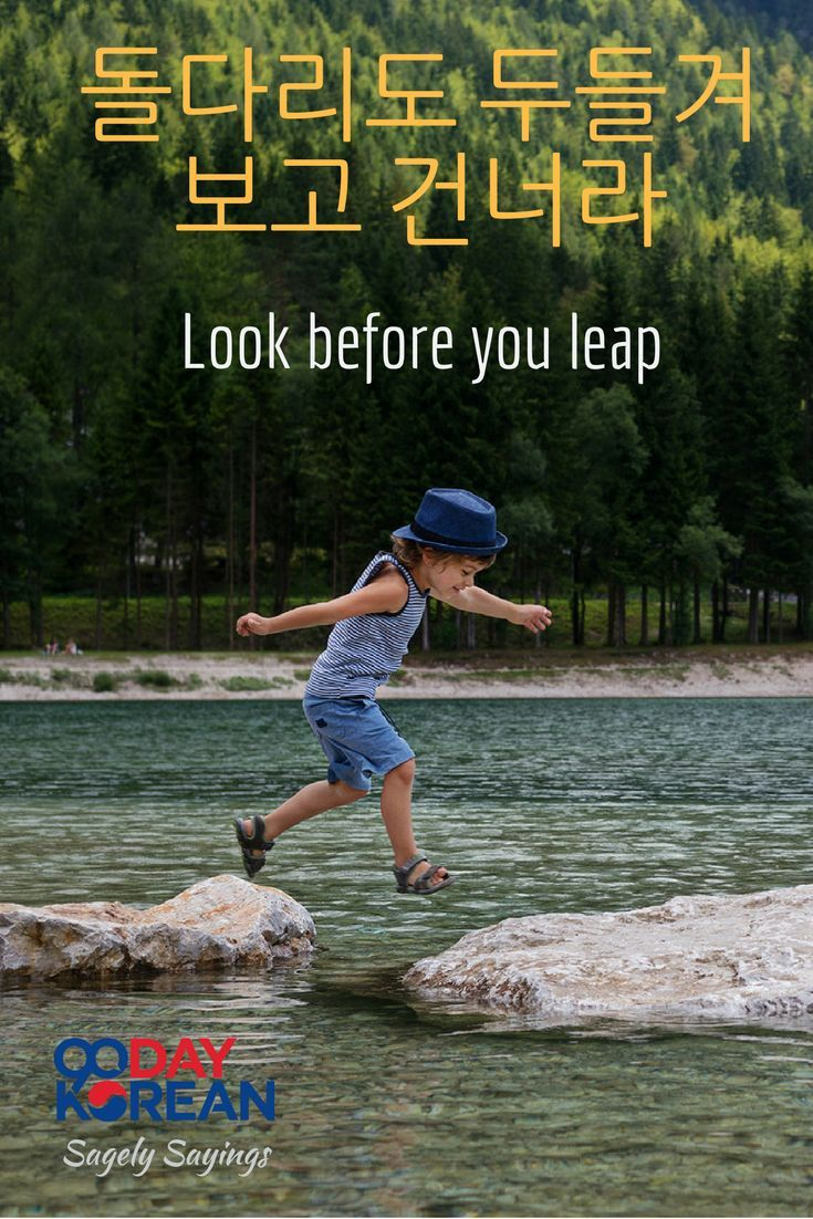 you should look before you leap meaning