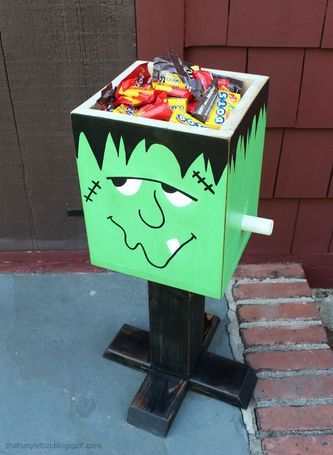 Frankenstein Candy Box