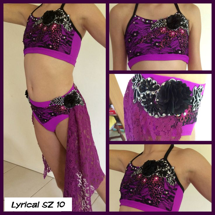 Gorgeous lyrical costume by Babushka Dance Designs
