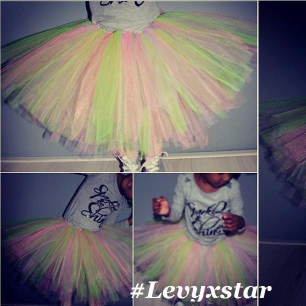 diy tutu / zelfgemaakte tutu #levyxstar